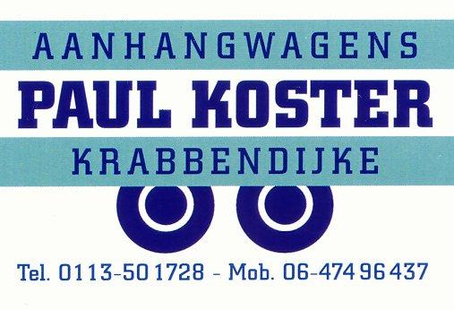 Logo Paul Koster Aanhangwagens